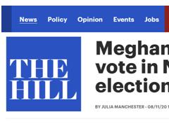 梅根宣布将在11月美国大选中投票:不要认为你的一票无关紧要